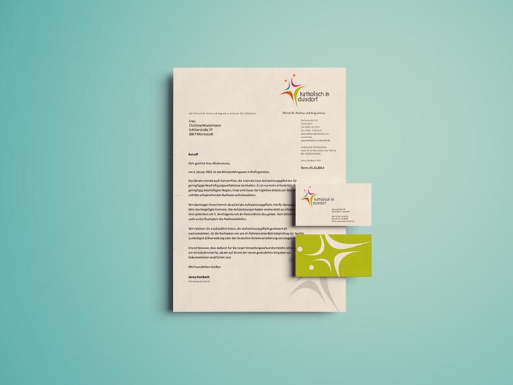 Logo für Kirchengemeinde & Corporate Design in Bonn